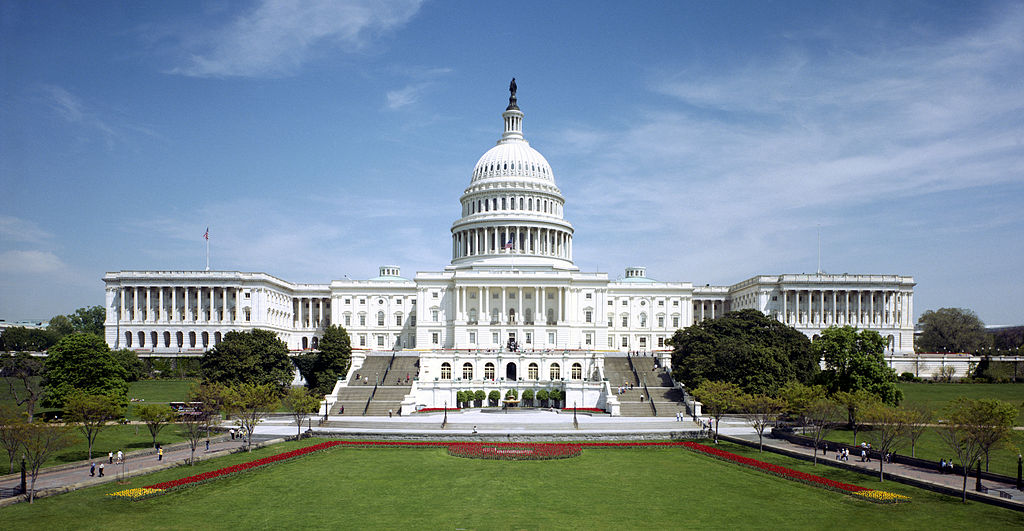 Western front of the U.S. Capitol Building, photo from the Architect of the Capitol