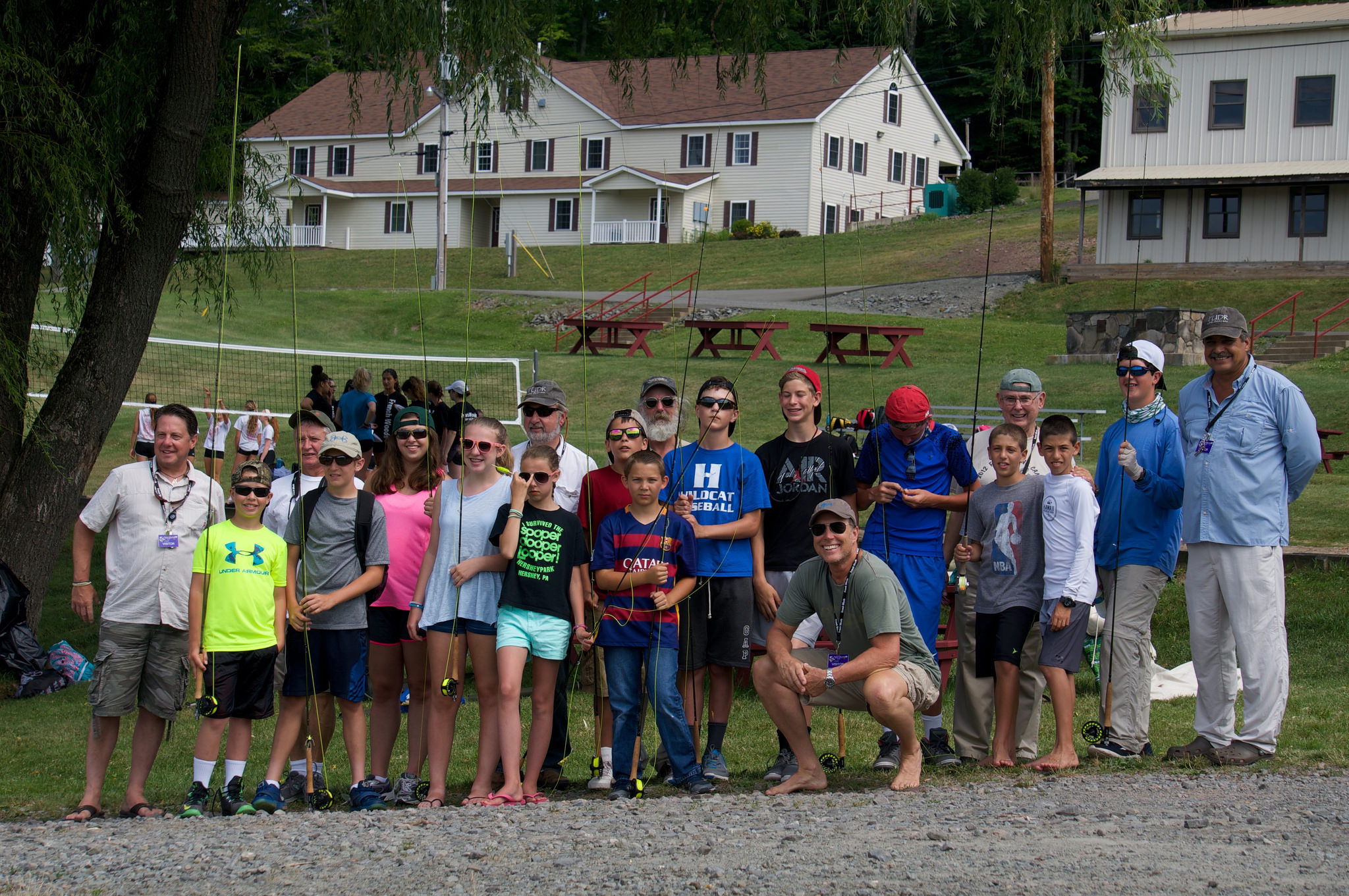 Friends of the Upper Delaware River (FUDR) partner with local Bill Canfield Fly Fishing School in a summer camp that teaches teens about the sport of fly fishing and the importance of river conservation. Photo courtesy of Friends of the Upper Delaware
