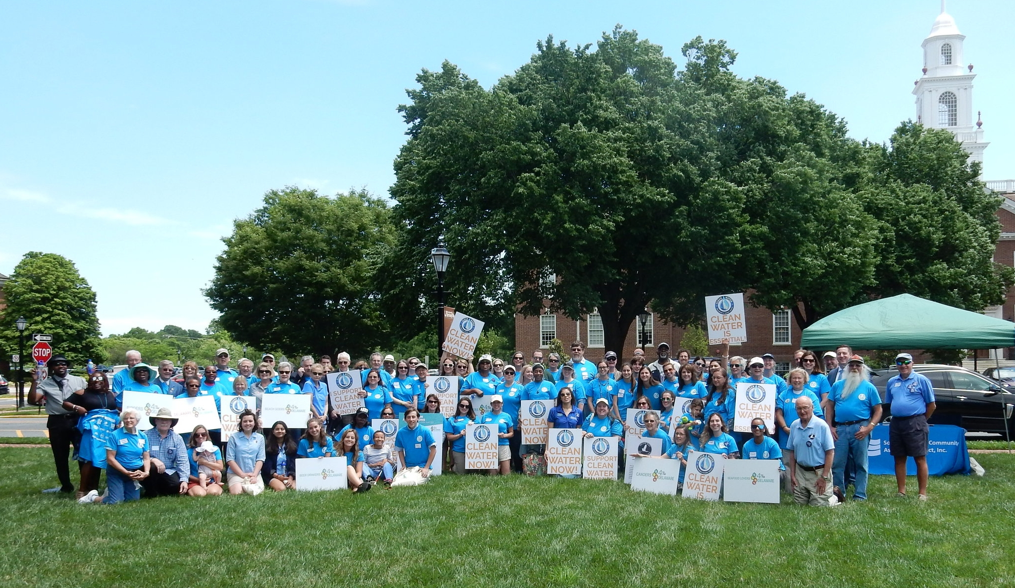 June 2018 Clean Water Rally in Wilmington, DE