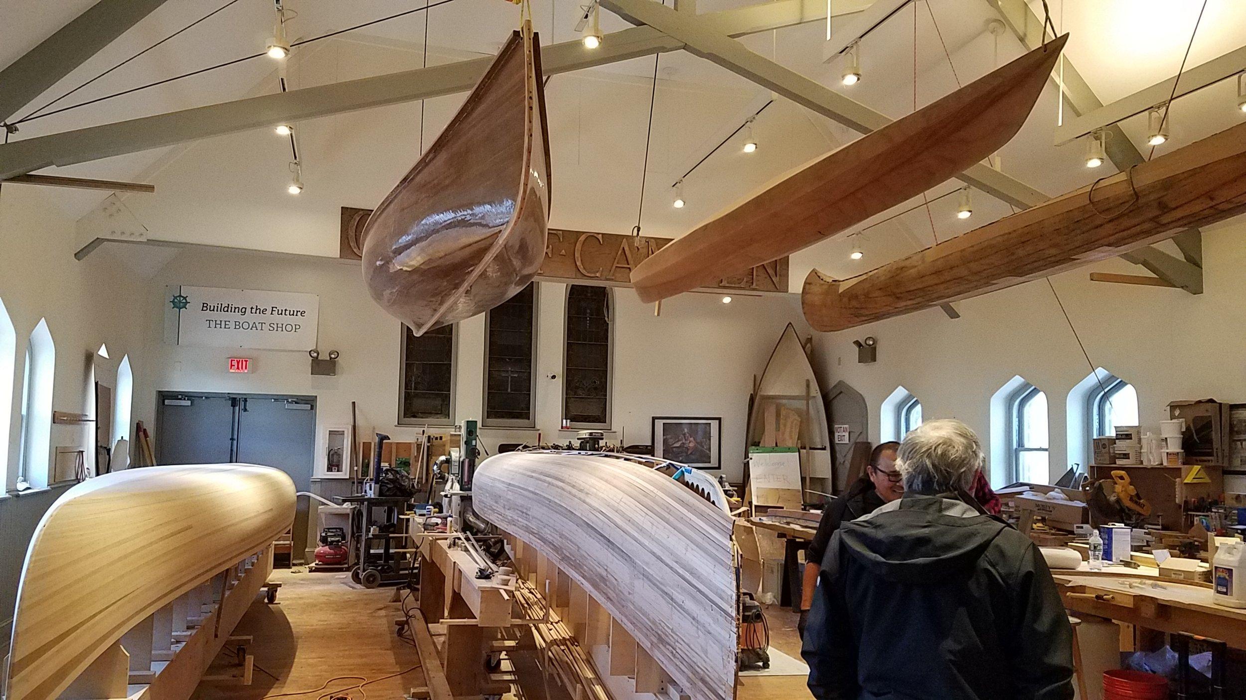 Inside the workshop of Urban BoatWorks