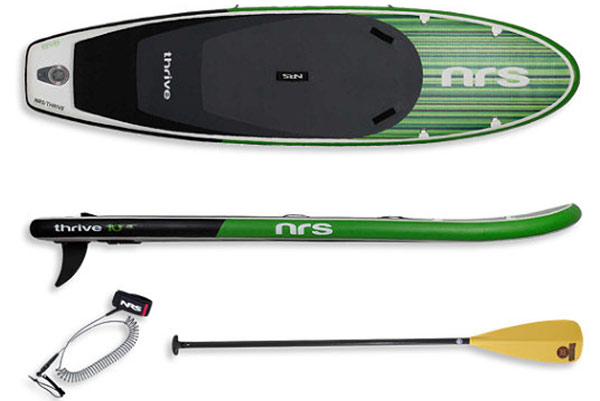 A closer look at the paddleboard grand prize