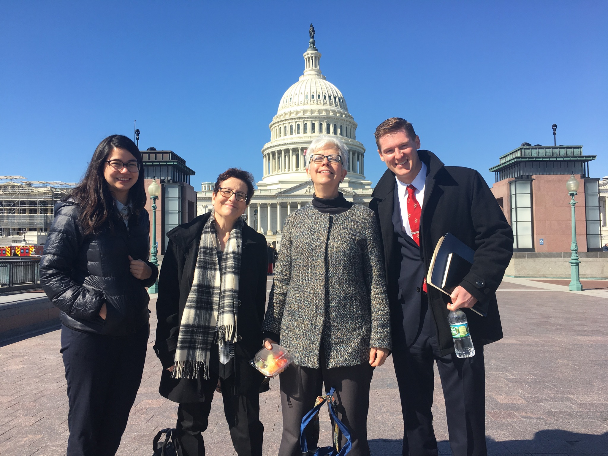 Coalition members National Audubon, Pennsylvania Environmental Council, National Wildlife Federation, and Ducks Unlimited visit the Capitol on March 12, 2019.