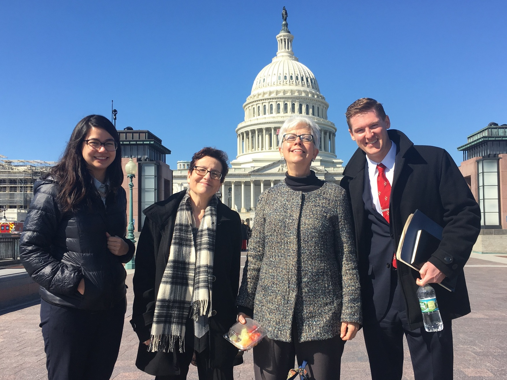 National Audubon, Pennsylvania Environmental Council, National Wildlife Federation, and Ducks Unlimited representatives at the Capitol for Hill Day.