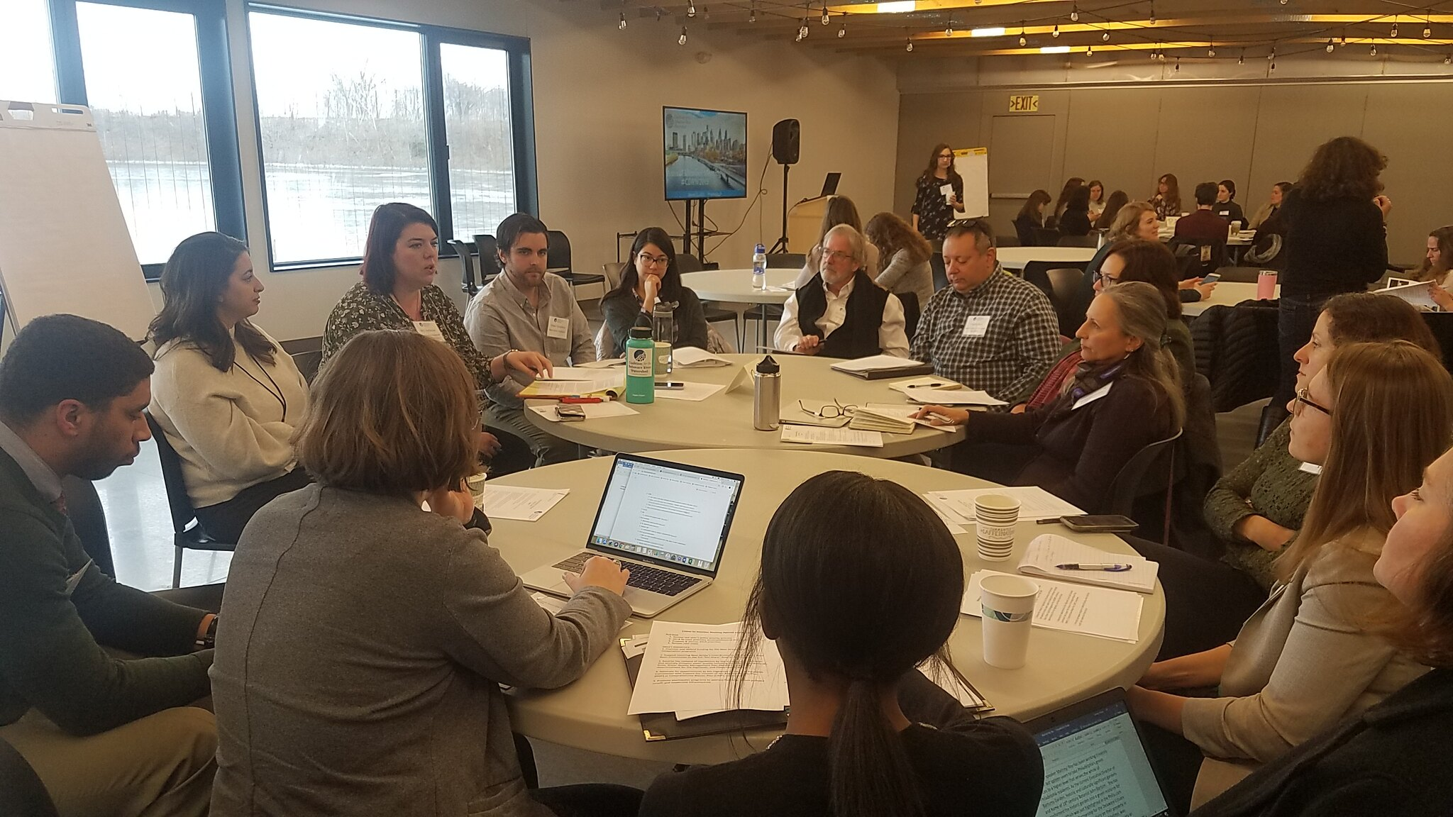 New Jersey members meet at the Coalition's annual meeting in January 2019 to discuss state priorities.