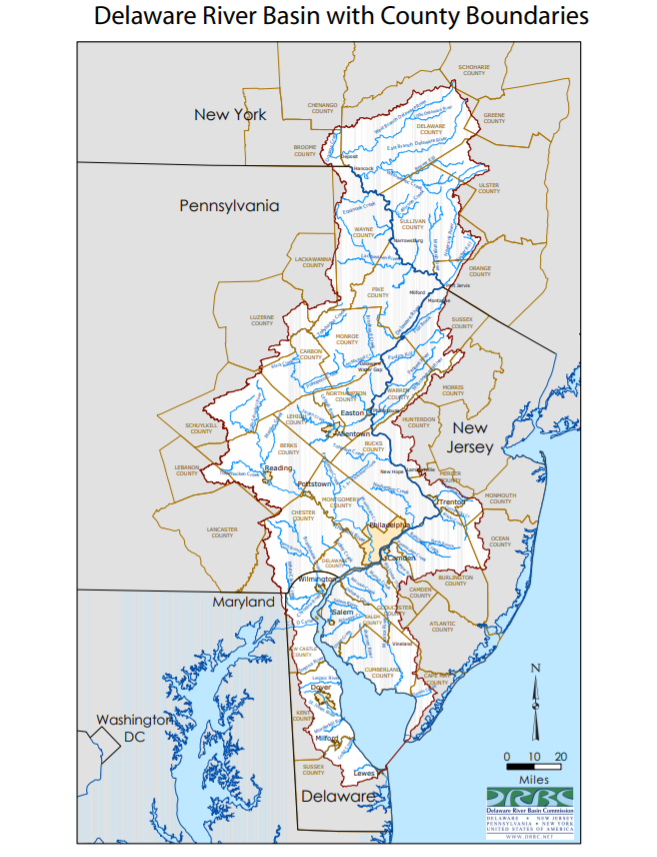 Courtesy of the Delaware River Basin Commission