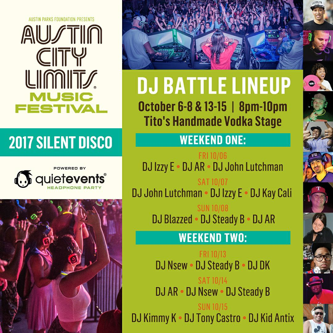 DJ Kimmy K Plays at Austin City Limits 2017
