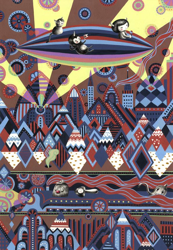 Poster for Usagi Gallery Paris