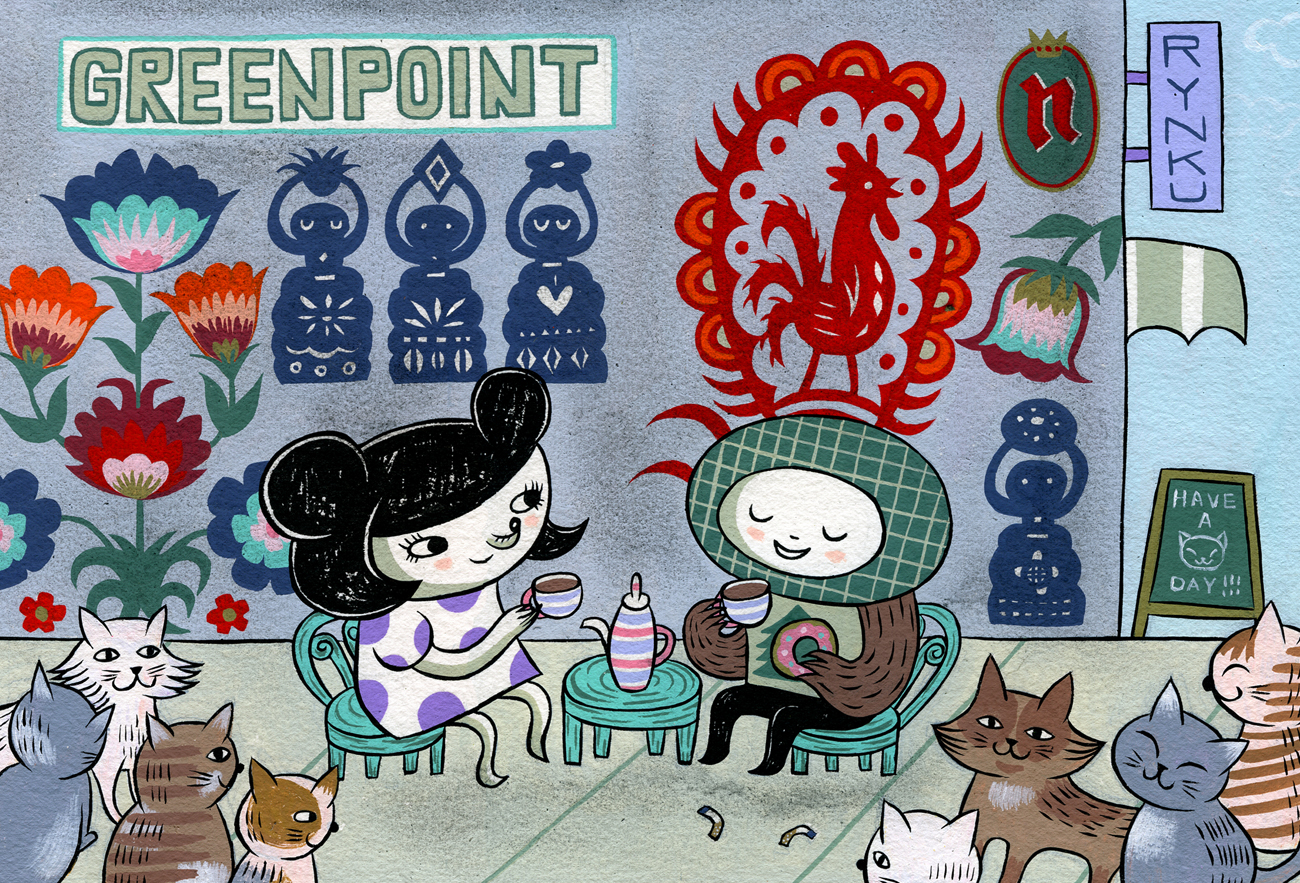 Post Card from Greenpoint - Personal piece