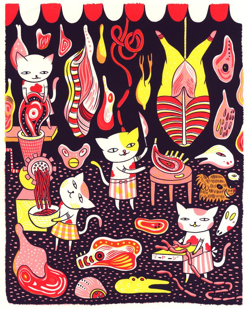 Cat Butcher -Personal Piece