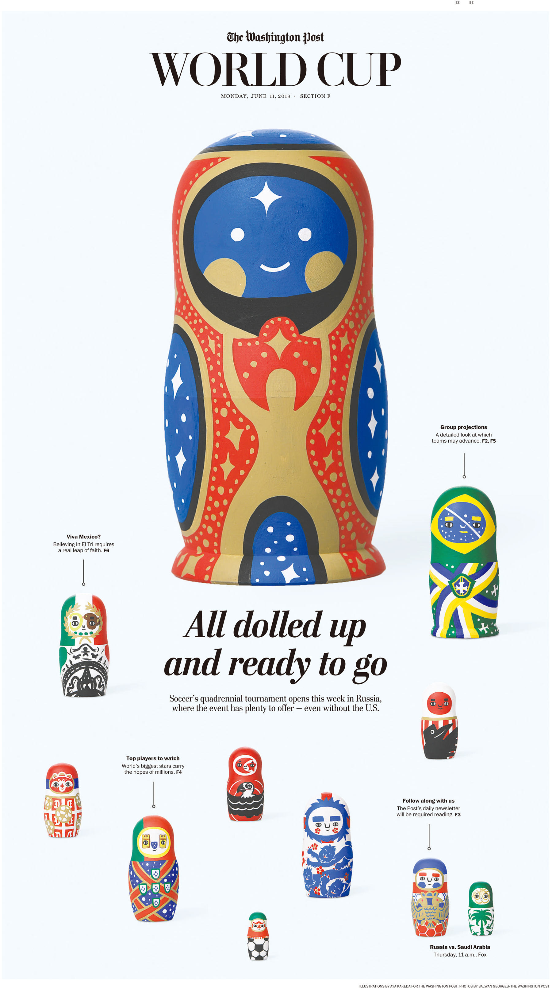 The Washington Post Russia WorldCup