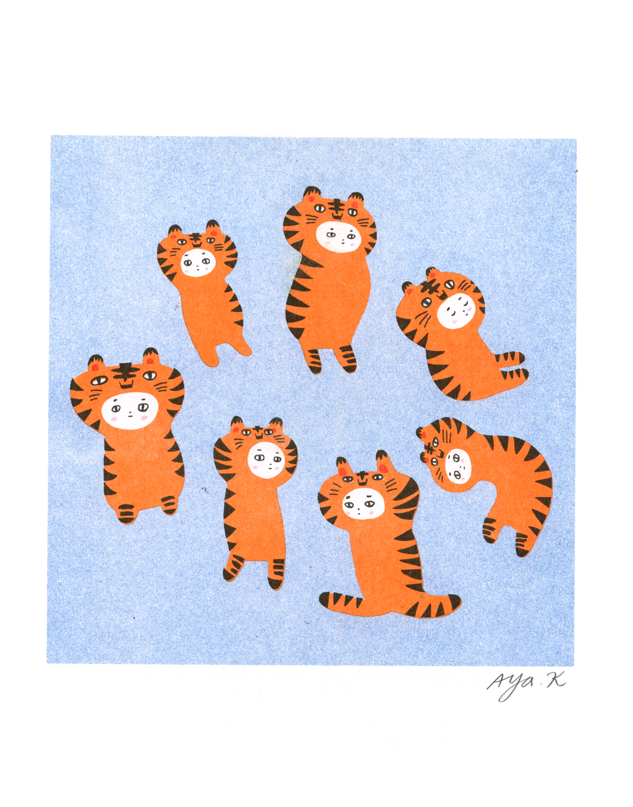 Tiger Girls Commission