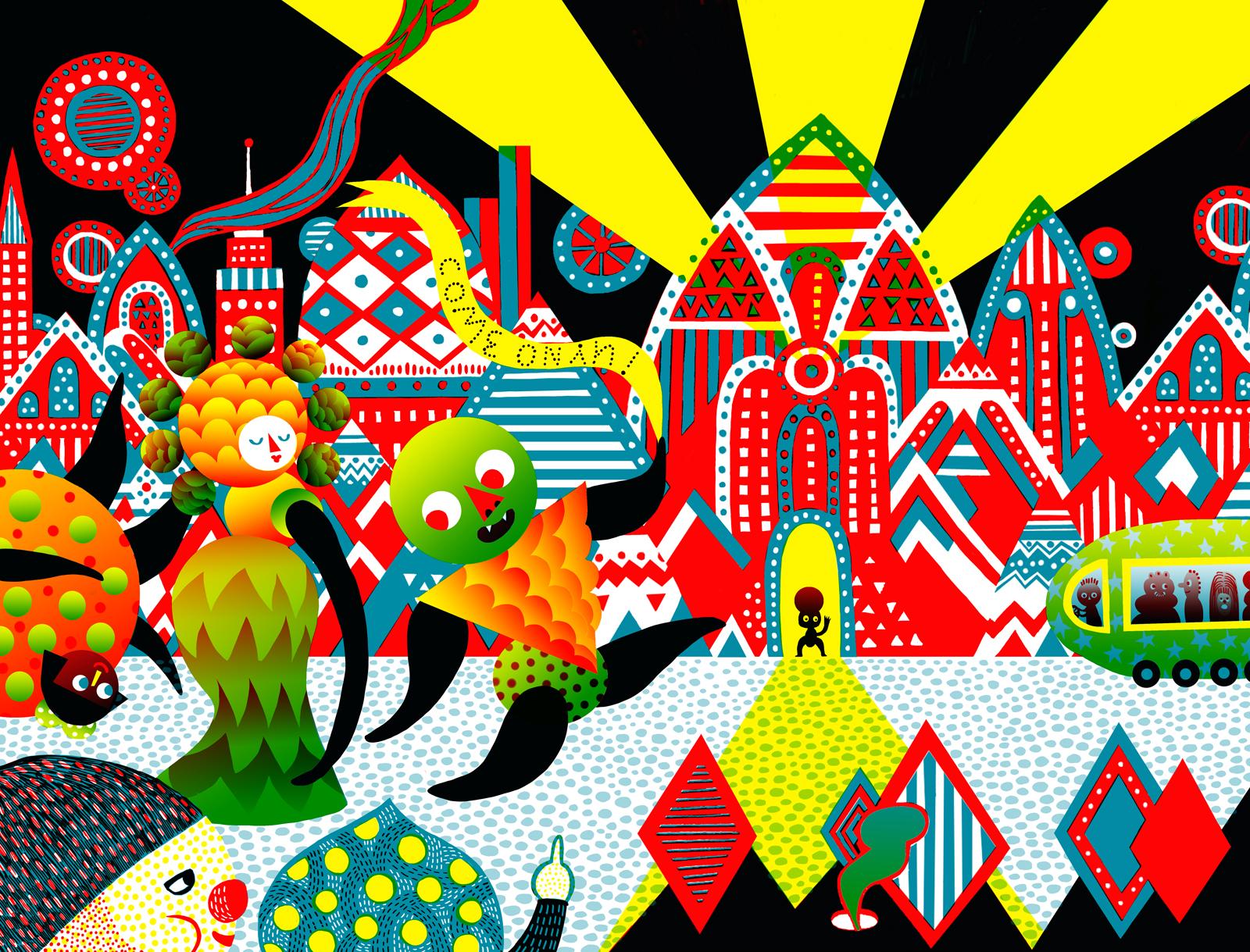 Le Fenetre ArtCenter Poster