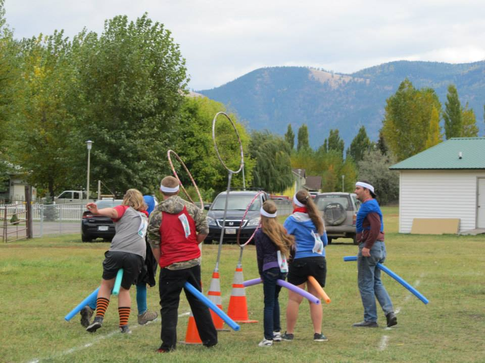Quidditch game played in the practice field,October 2015.