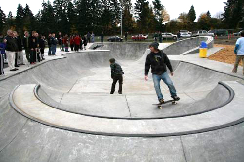Neighborhood Skateparks in Kelso, WA.