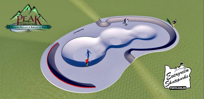 Proposed design for Alberton's park