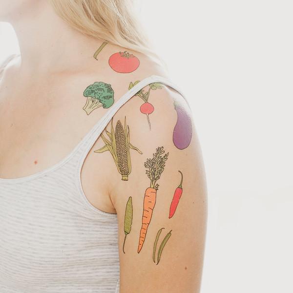 Tattly Food Tattoos