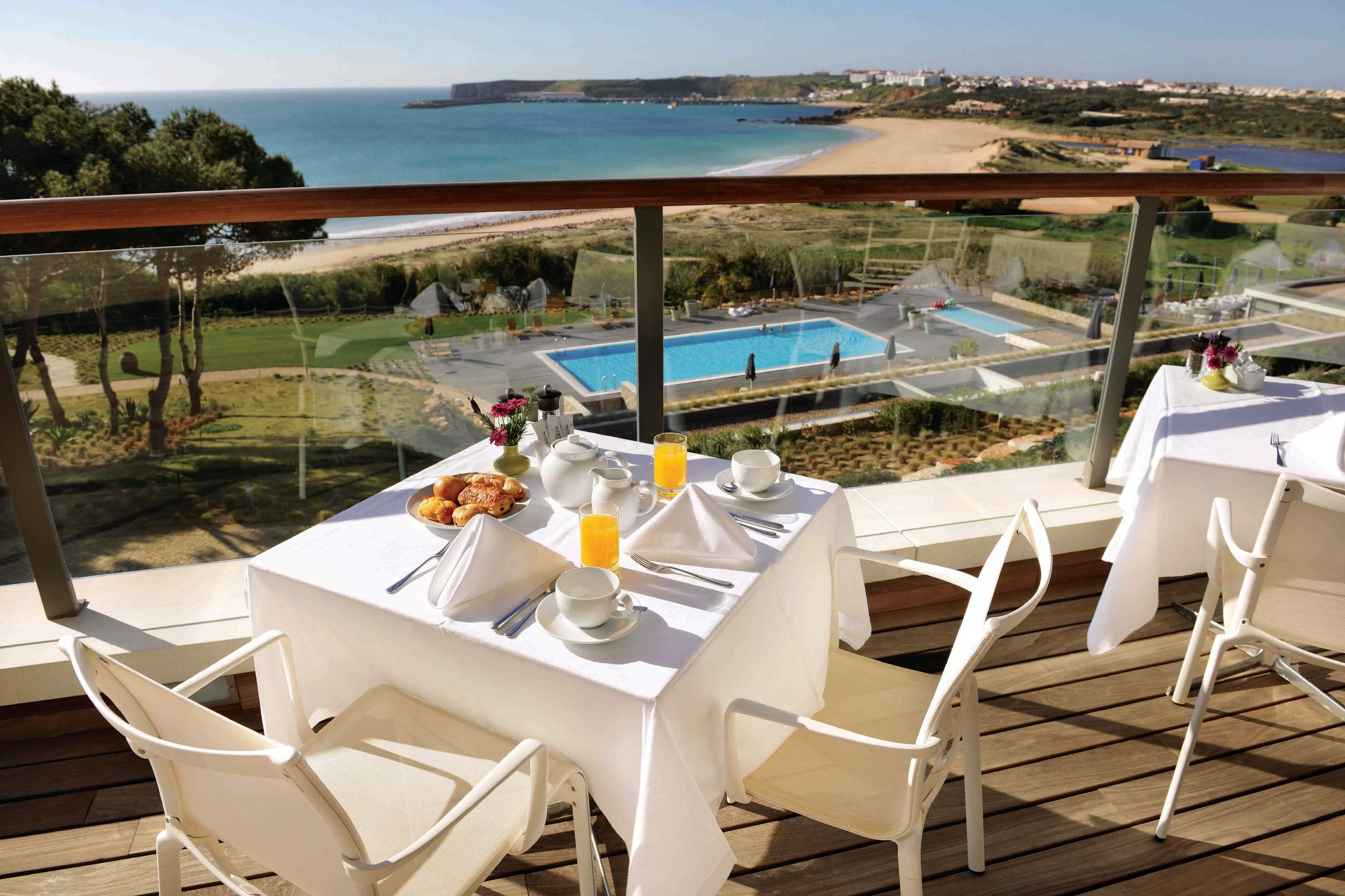 Breakfast at Martinhal Sagres