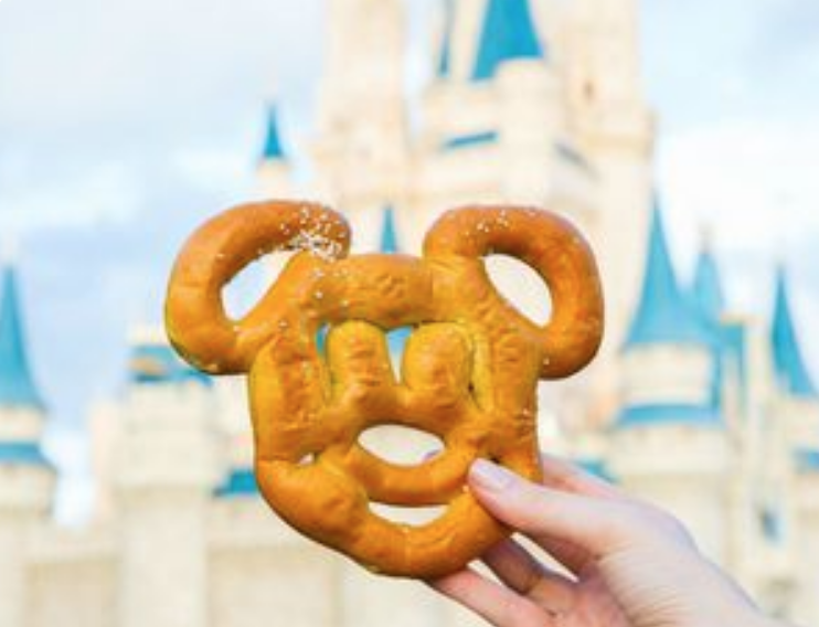 Mickey-Shaped Pretzels