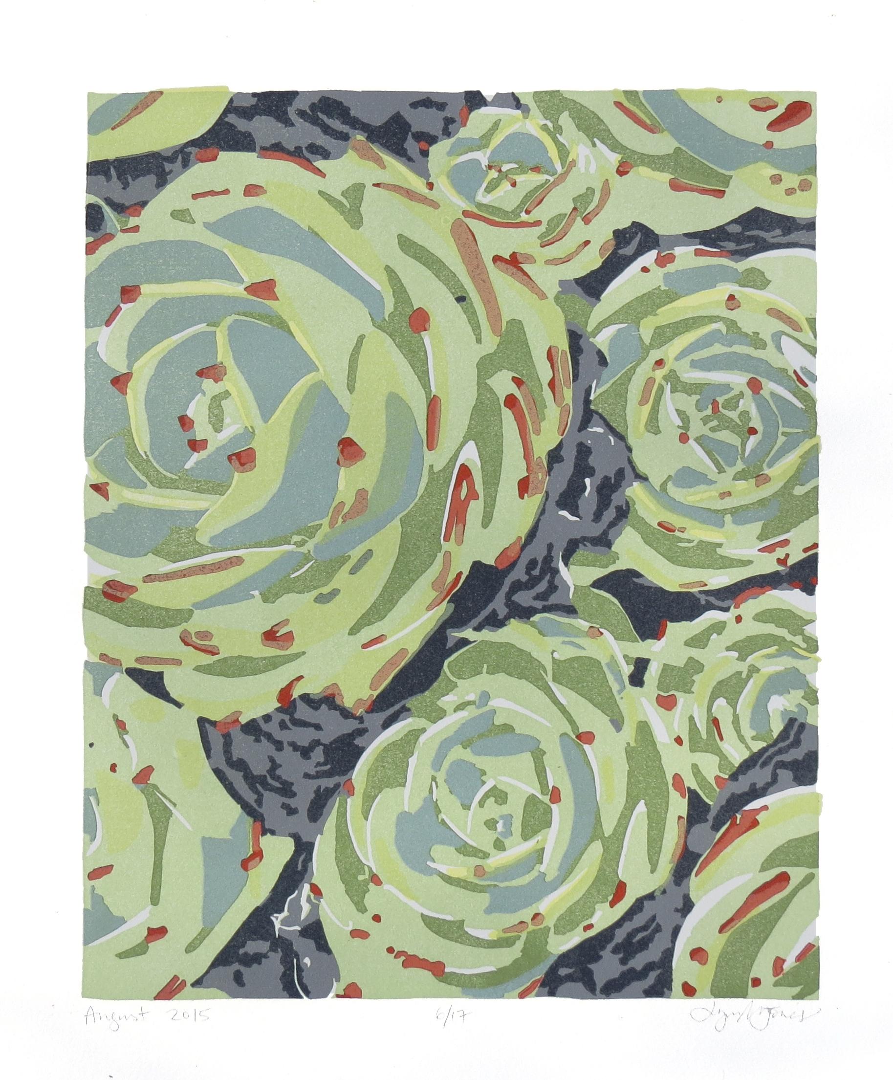 Succulents 2, 2015