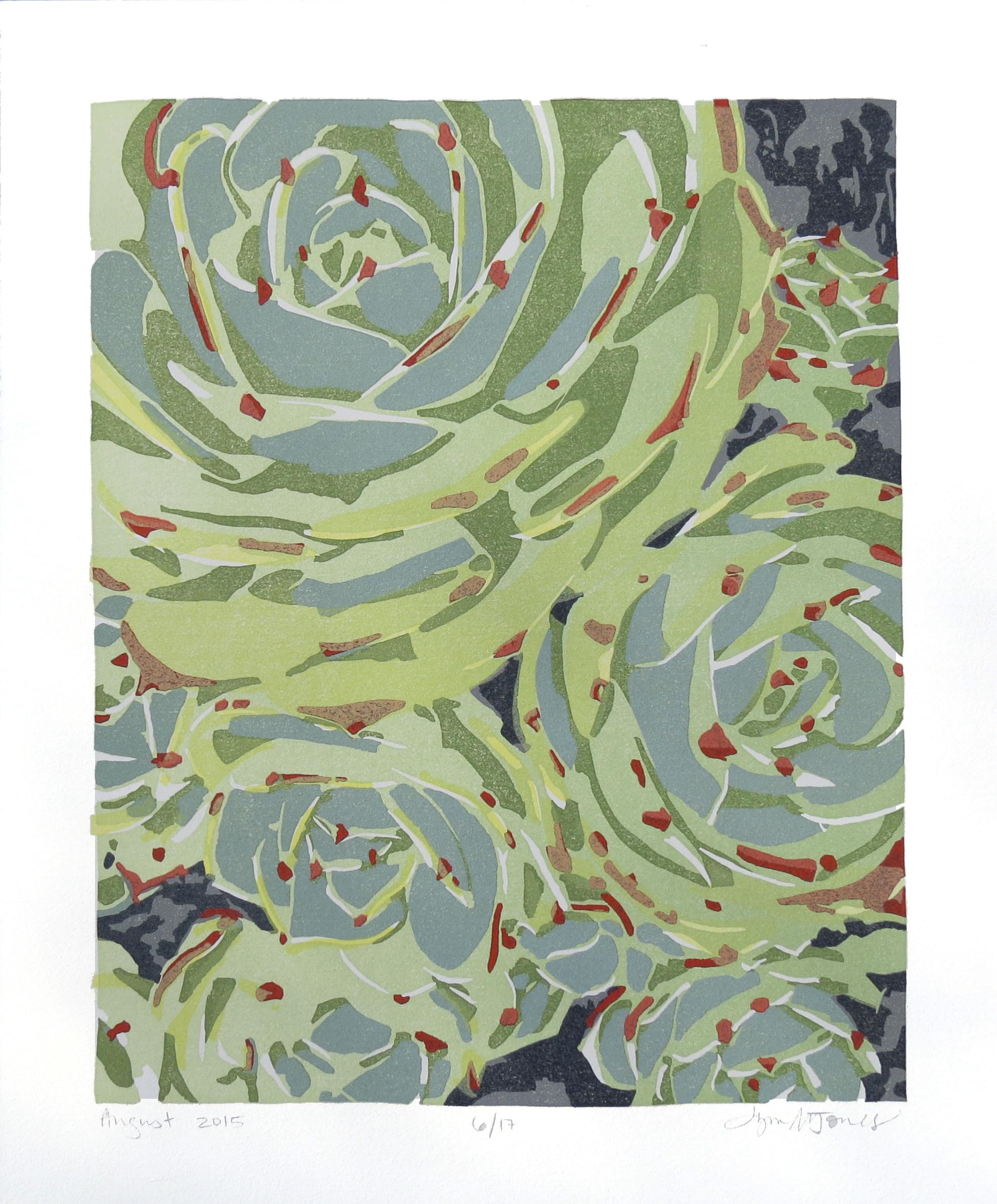 Succulents 1, 2015