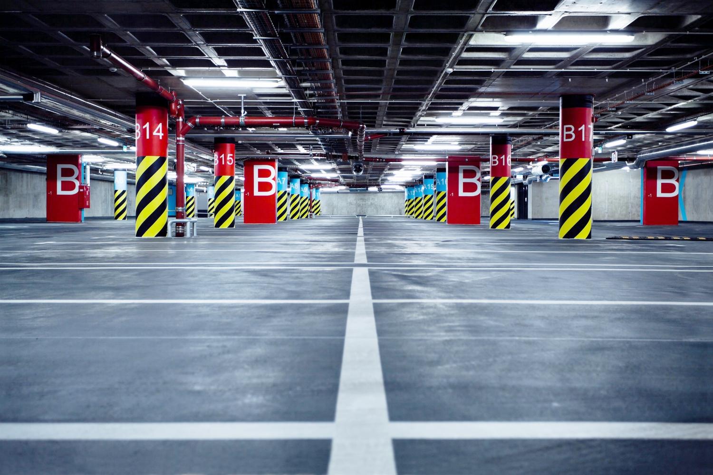 Powierzchnie parkingowo-garażowe -