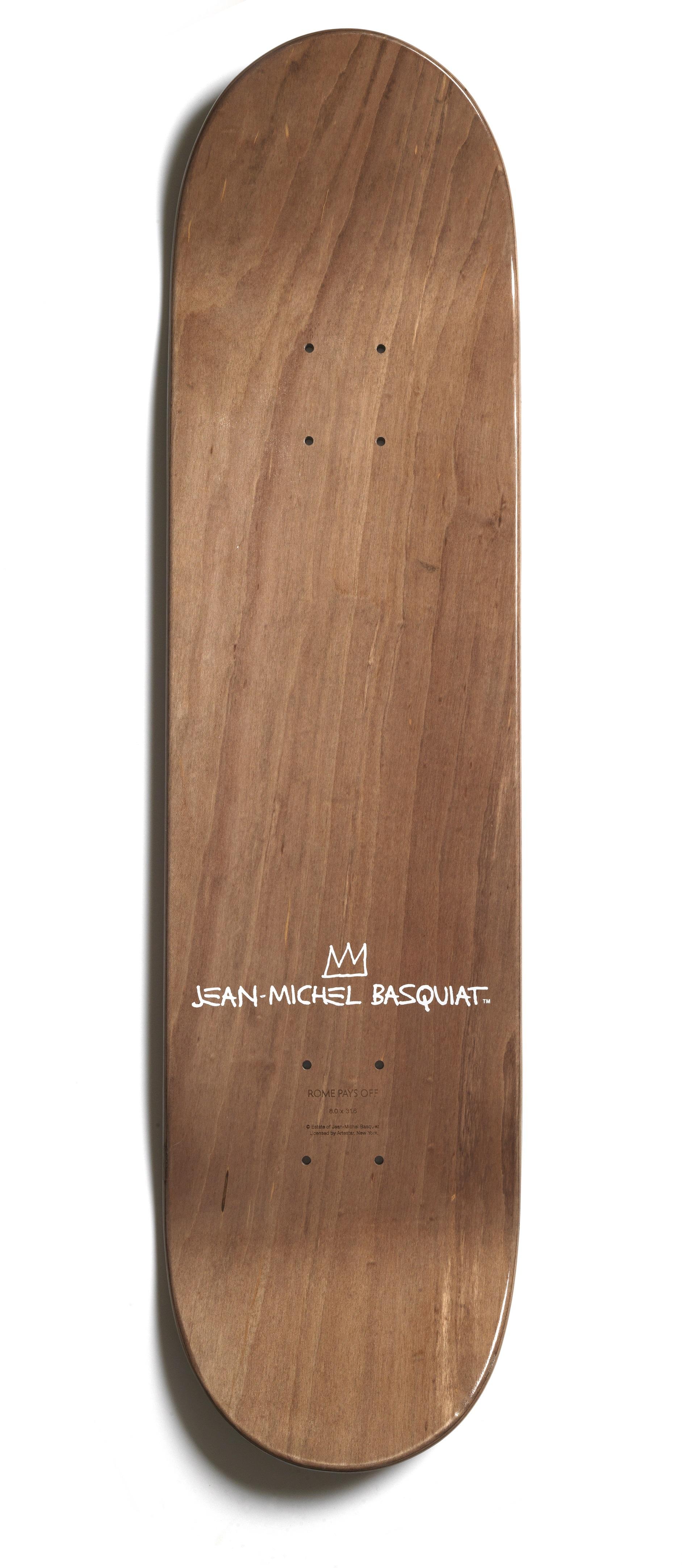 BASQUIAT - BOONE MONA LISA SKATEBOARD - £150 - IMAGE 1 - BROWNS FASHION.jpg