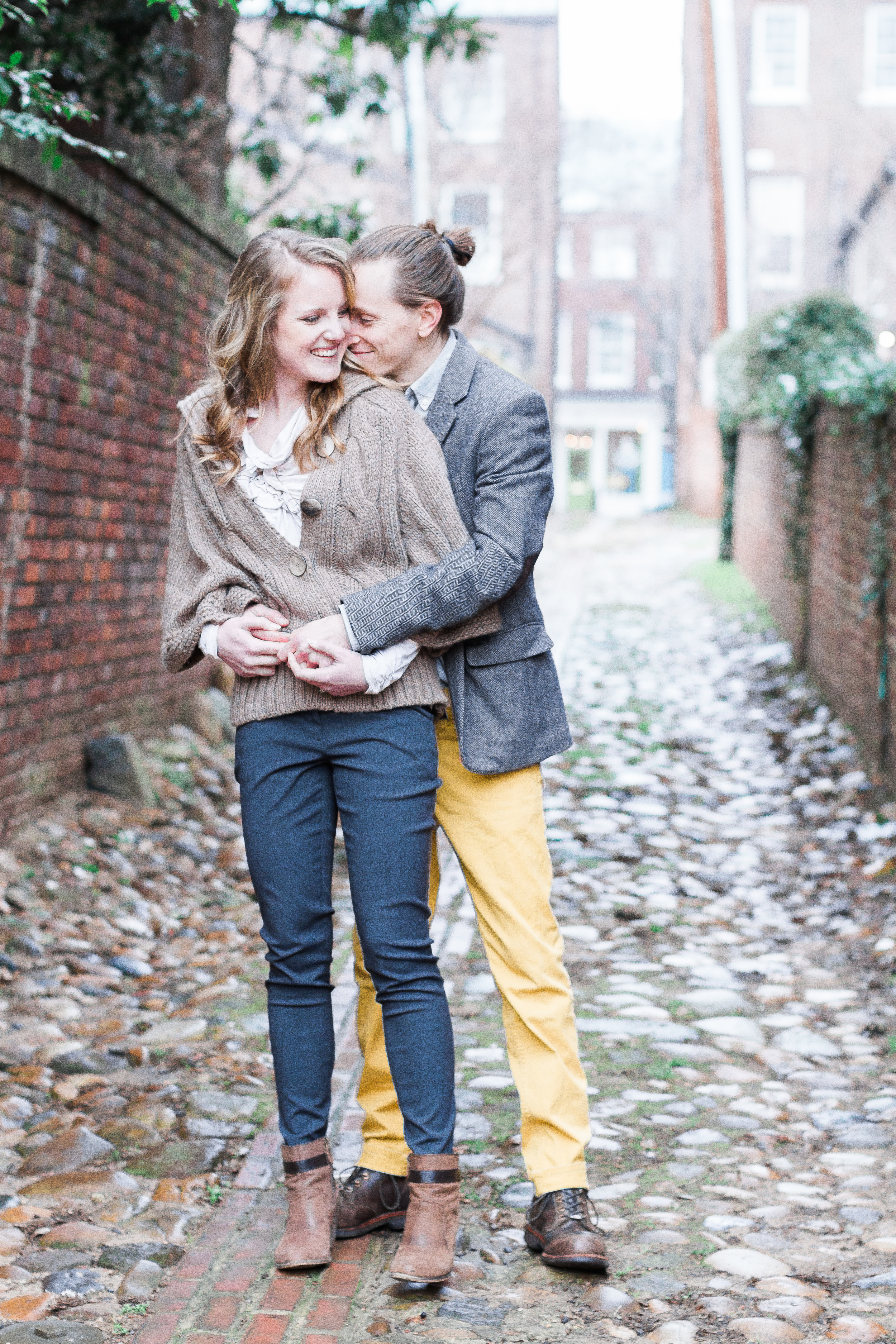 Old Town Alexandria Virginia Engagement | Andrea Rodway Photograhpy