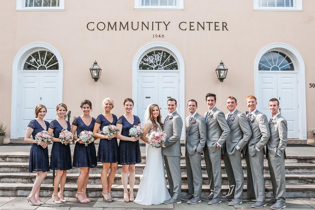 Middleburg Community Center Wedding Middleburg Virginia   Andrea Rodway Photography