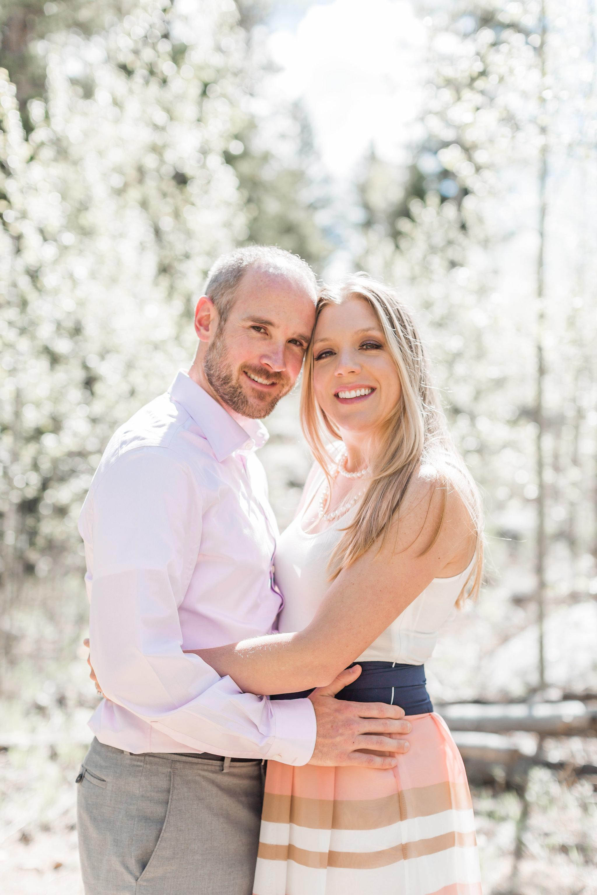 Golden Gate Canyon State Park Engagement Session | Golden Colorado | Andrea Rodway Photography