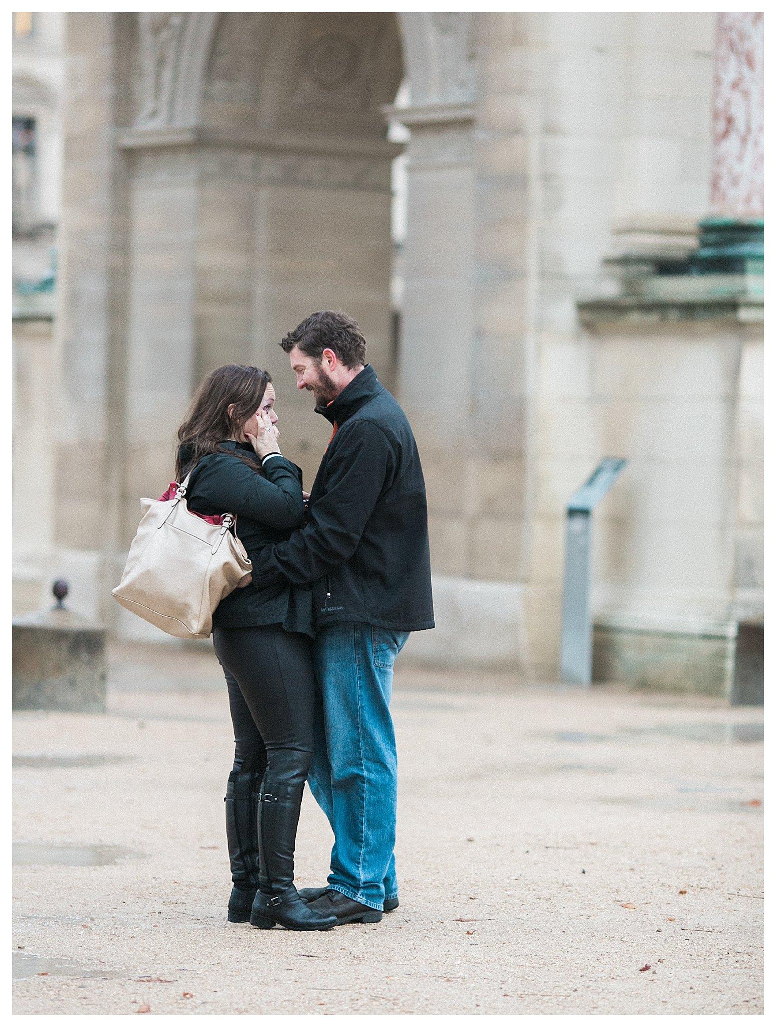 Our Engagement in Paris | Paris, France | Andrea Rodway Photography