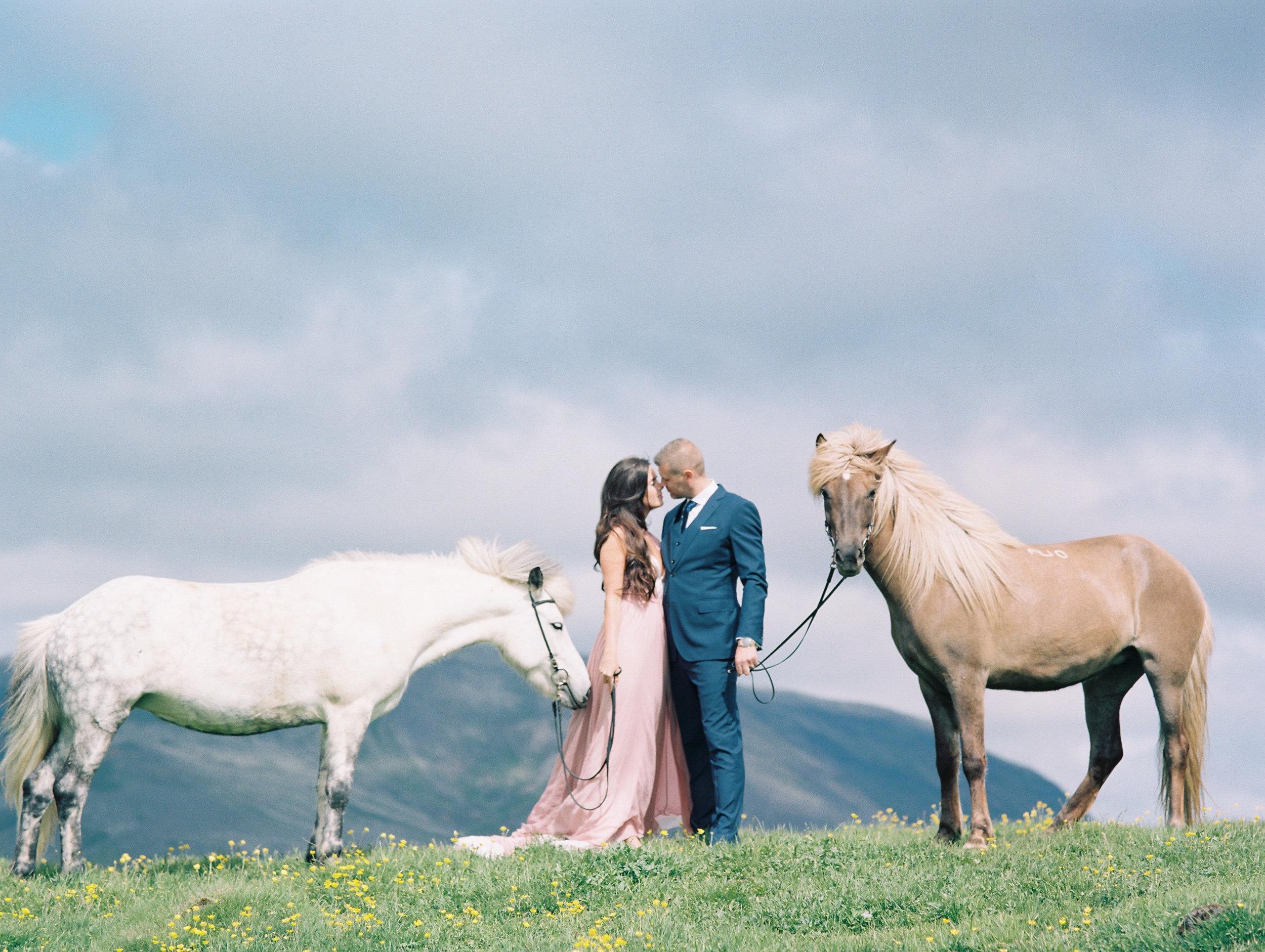 Destination wedding portraits :: Snæfellsnes, iceland