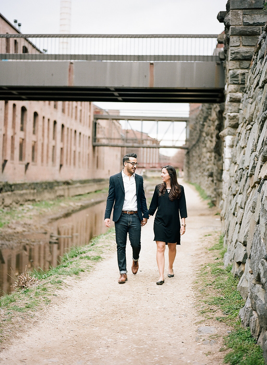 DC Cherry Blossom Engagement | Andrea Rodway Photography