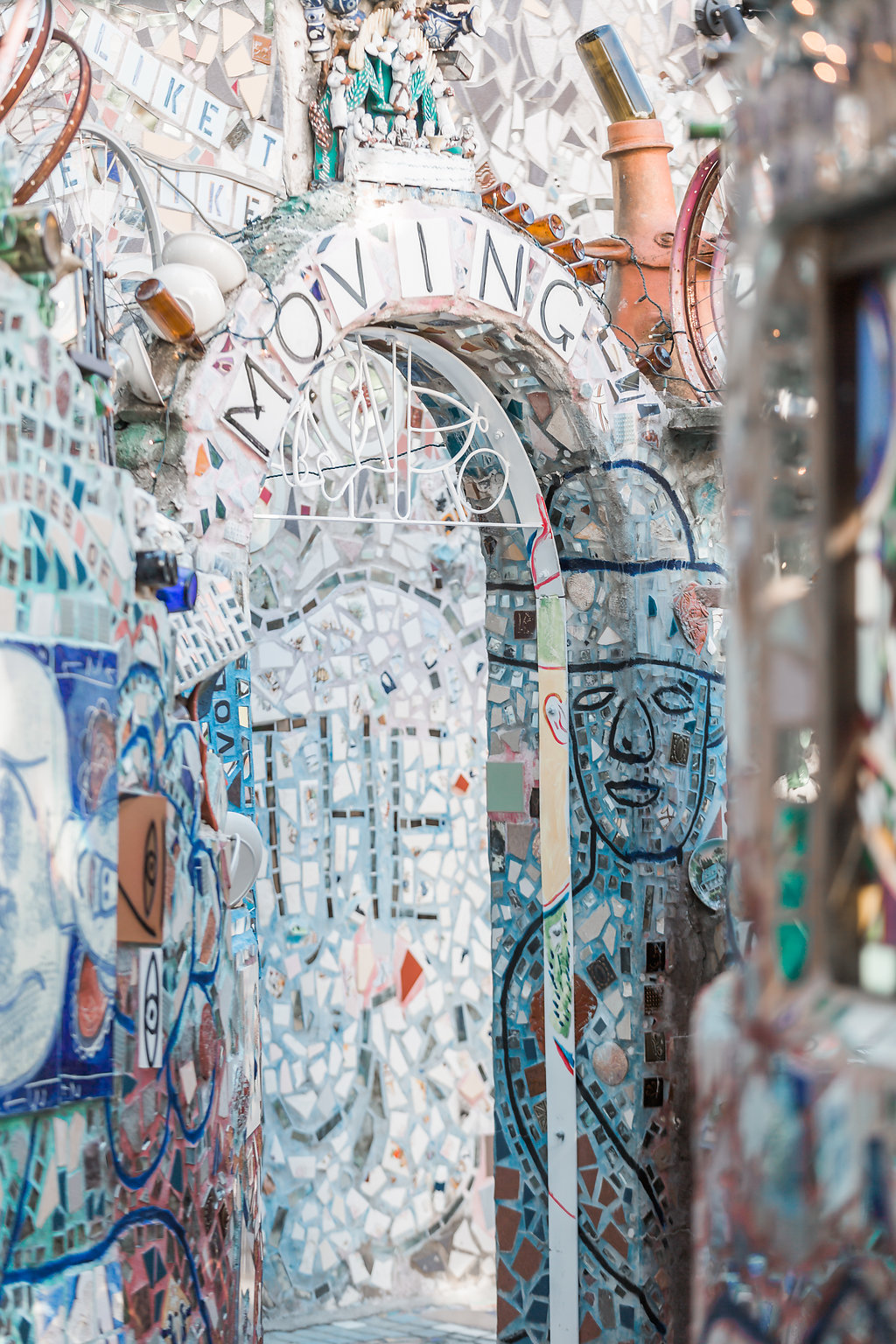 Philadelphia Magic Gardens Wedding Photographer Erin Sean