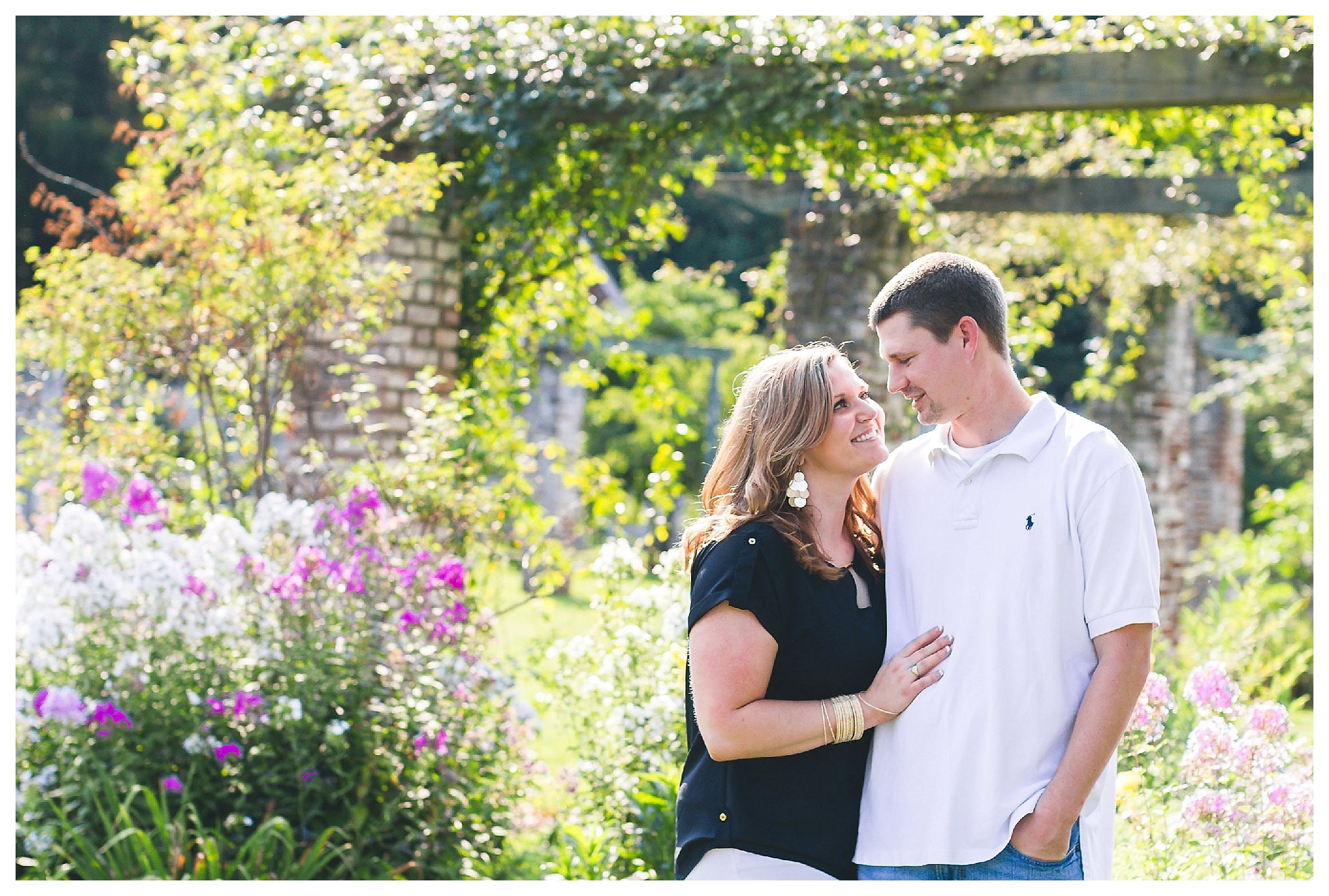 Chatham Manor Engagement | Andrea Rodway Photography
