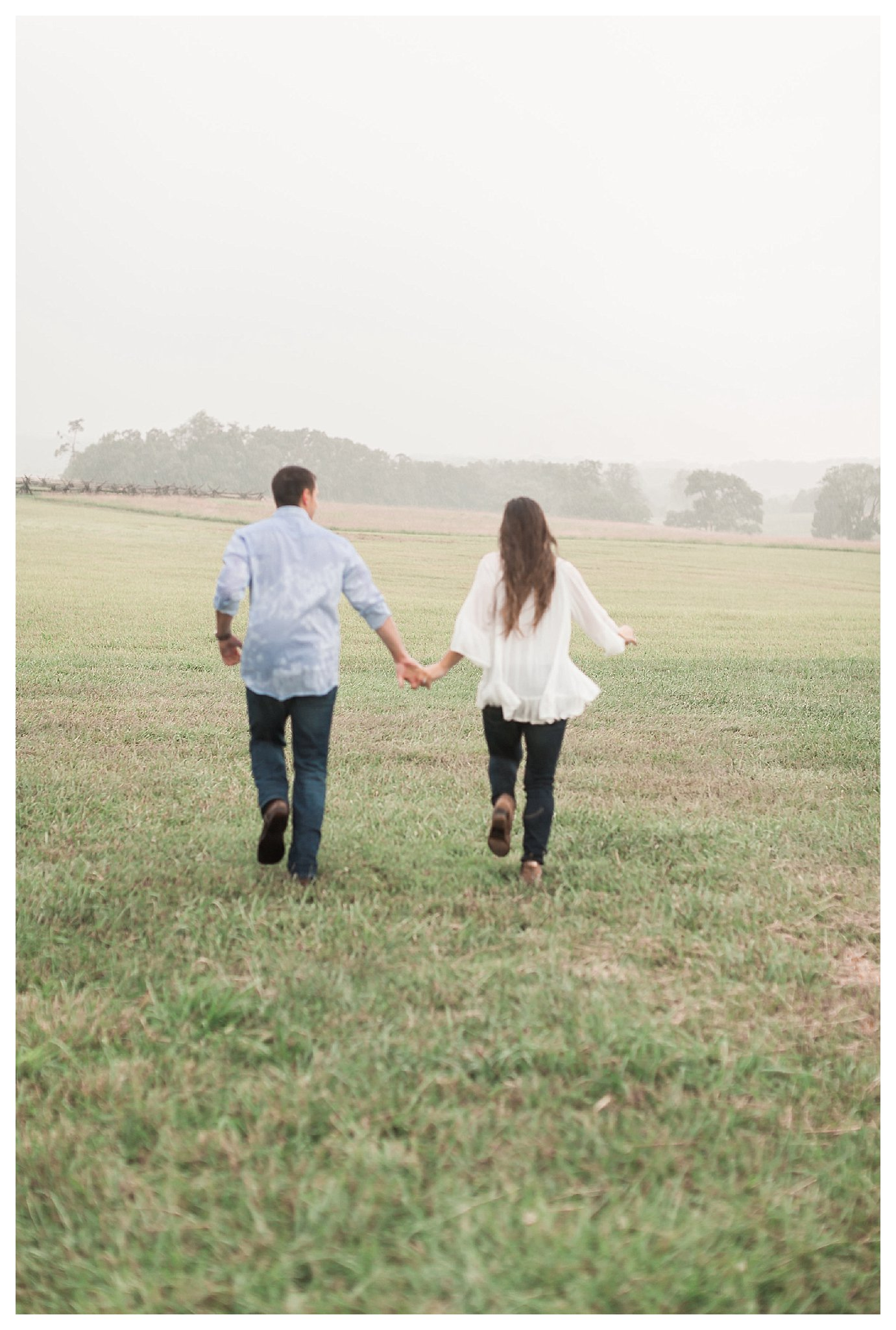Manassas Battlefield Engagement | Andrea Rodway Photography