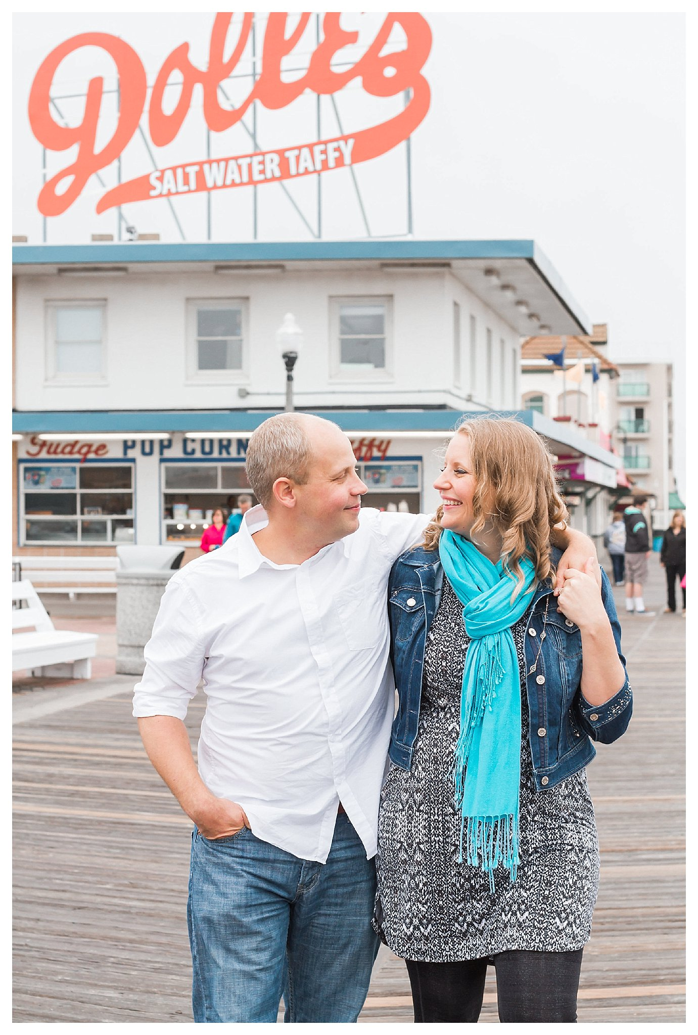 Rehoboth Beach Engagement | Andrea Rodway Photography