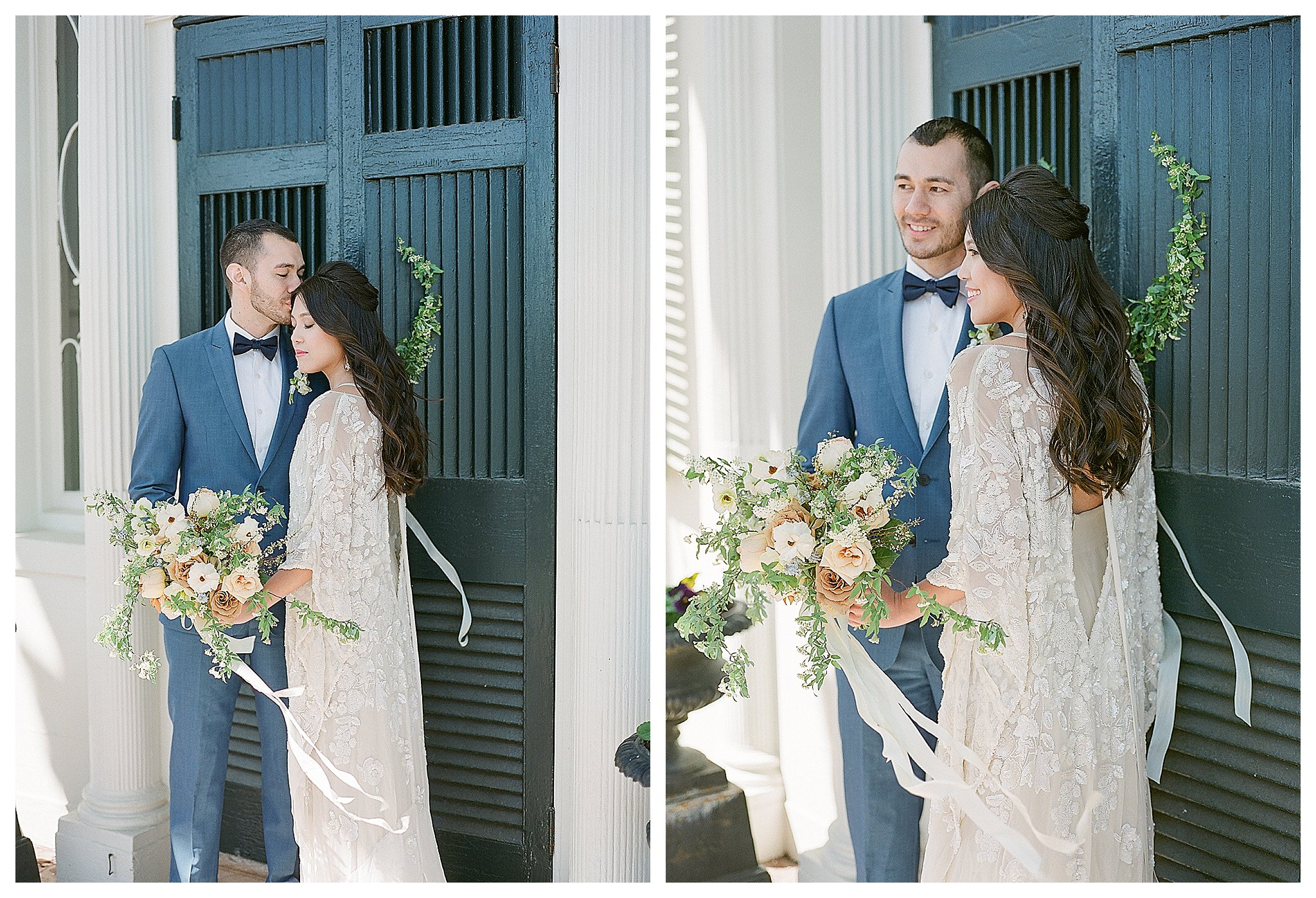 Spring Oatlands Historic House and Gardens Wedding | Andrea Rodw