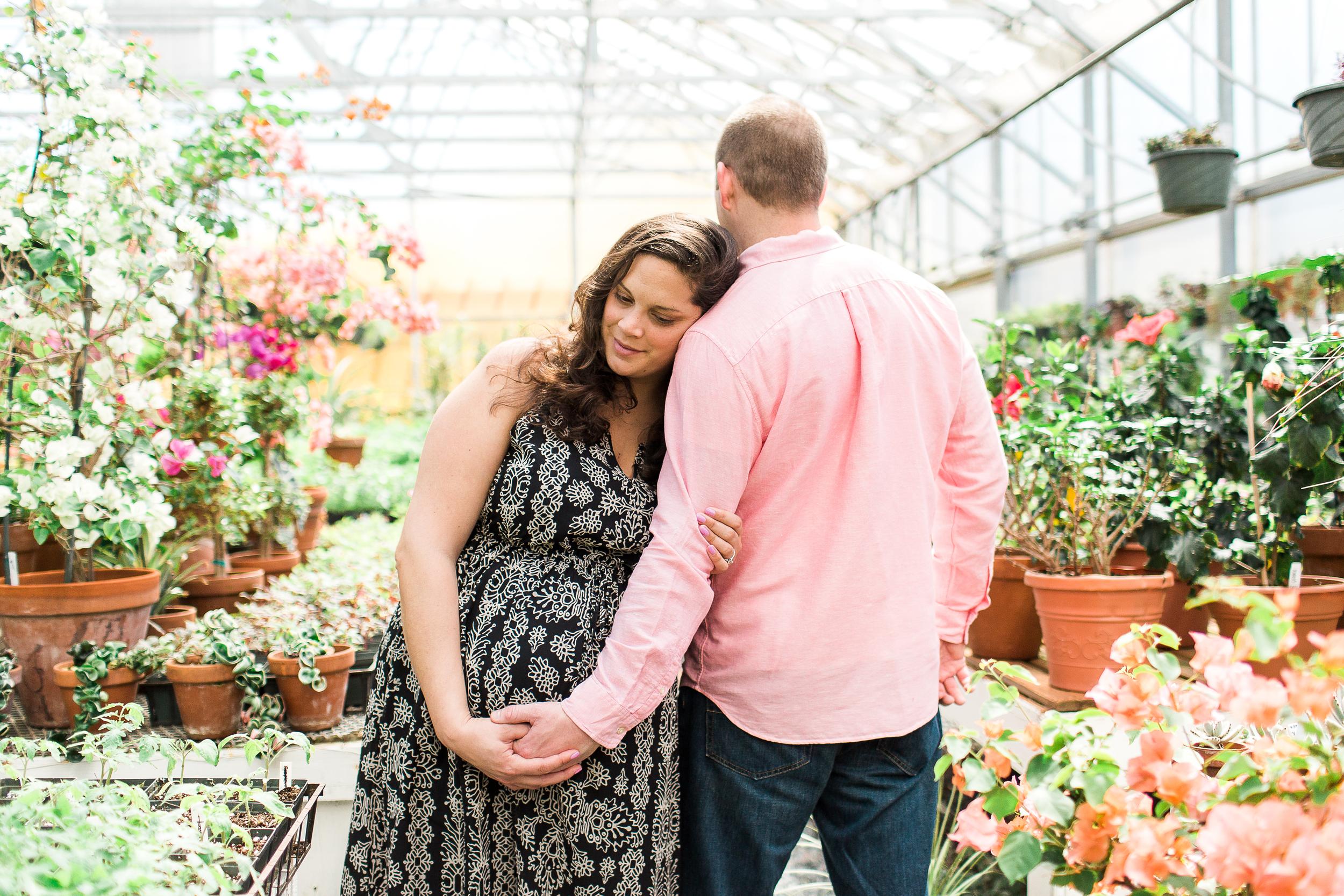 Sharon View Nursery | Boston Maternity Photographer