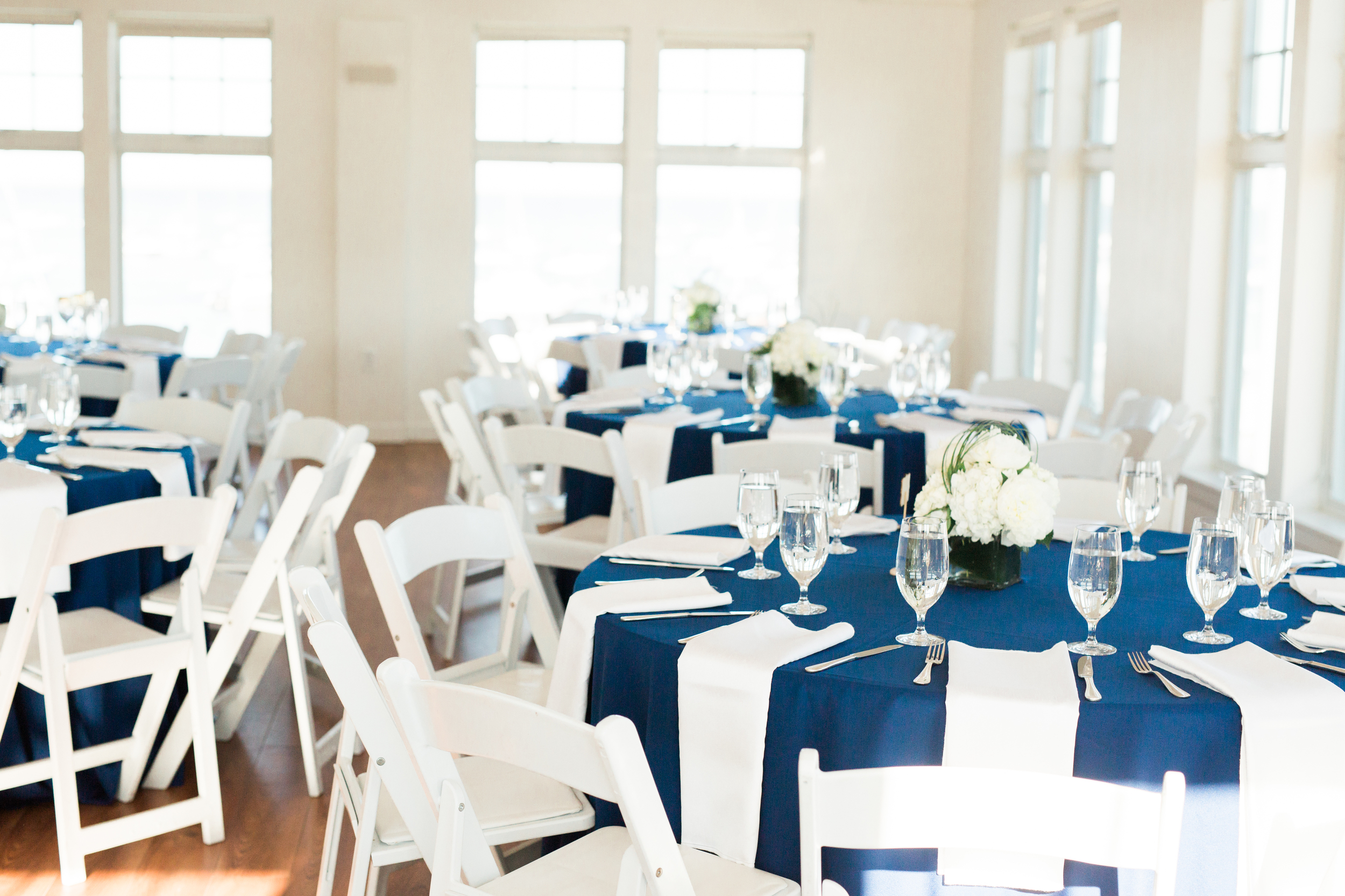 Oceanfront Duxbury Maritime School Wedding