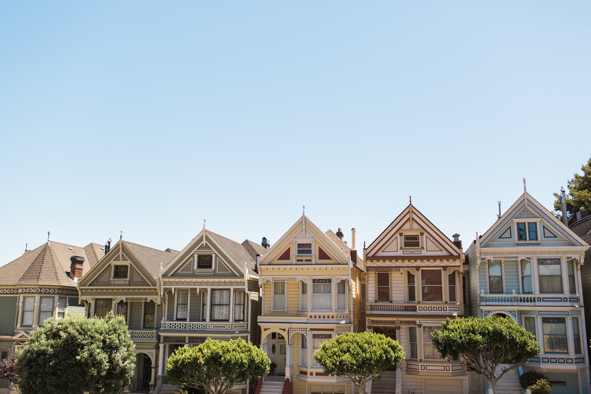 Wanderlust California: San Francisco Painted Ladies