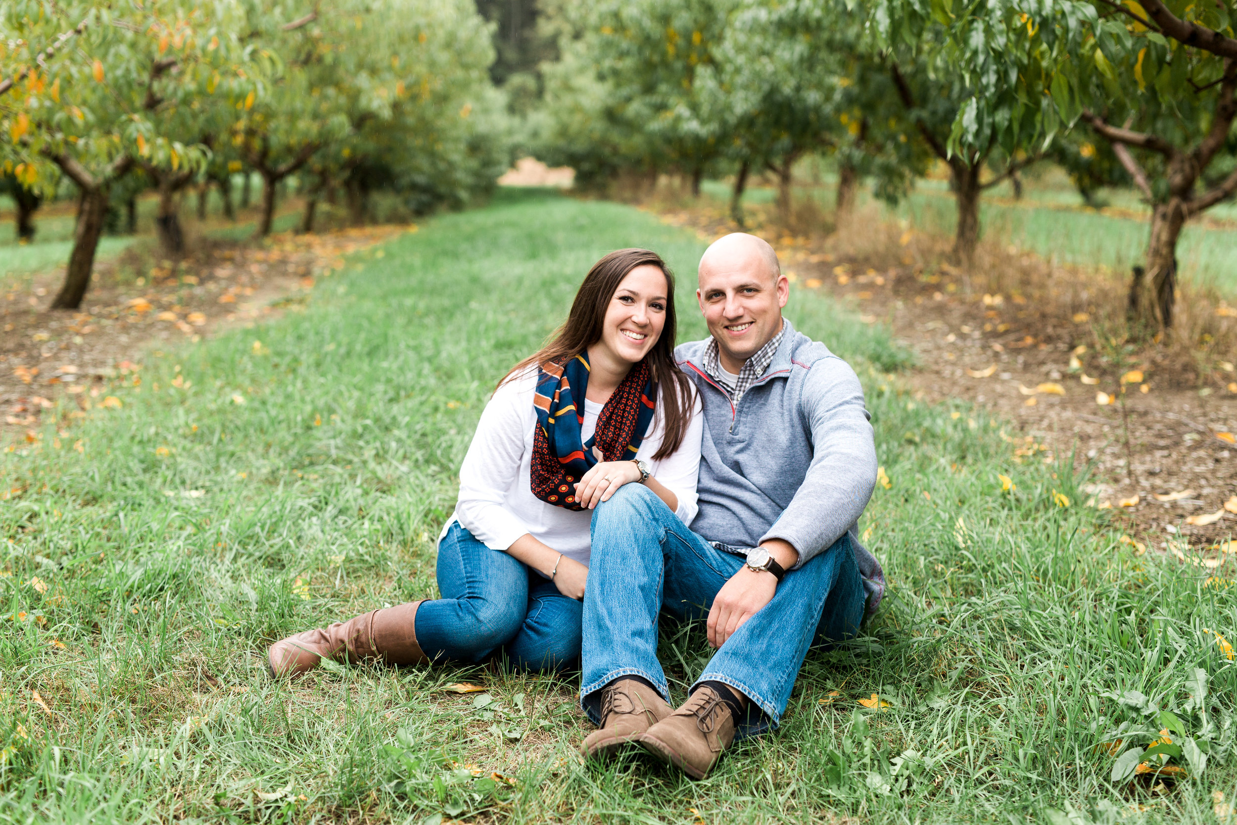 Ward's Berry Farm Fall Engagement Session | Boston Engagement Photographer