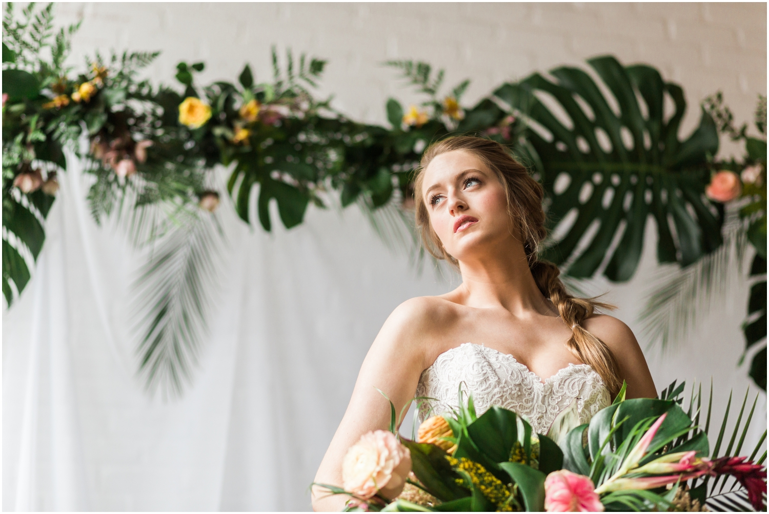 Vibrant and Tropical Wedding Inspiration