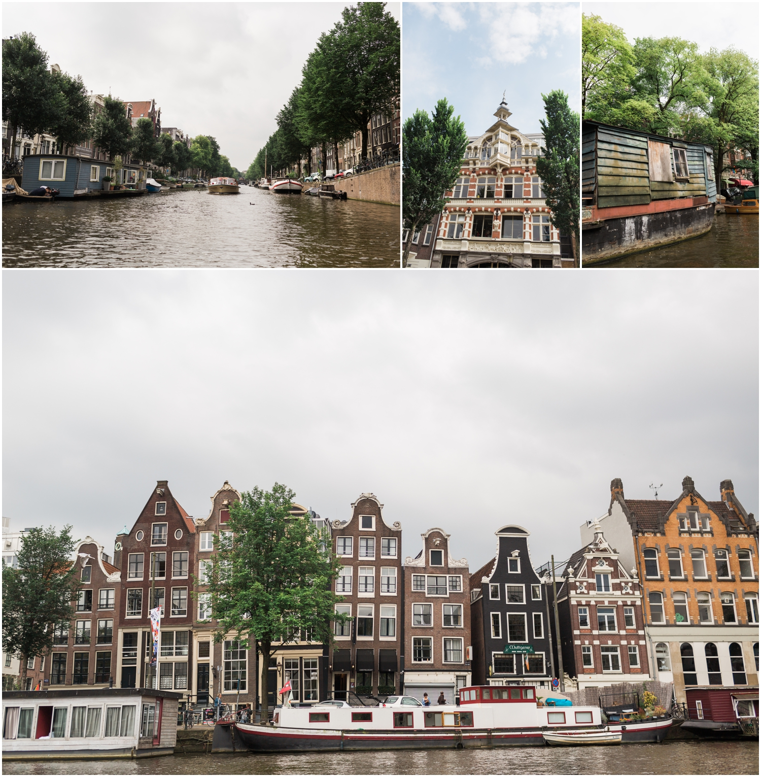 Downtown Amsterdam Canals