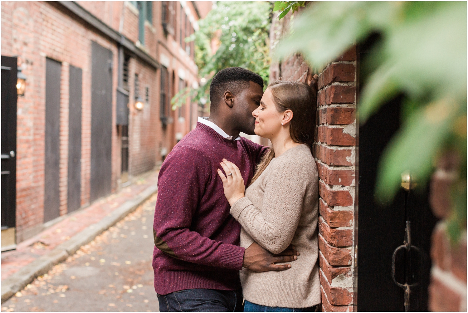 Beacon Hill Engagement Session // Boston Engagement Photographer