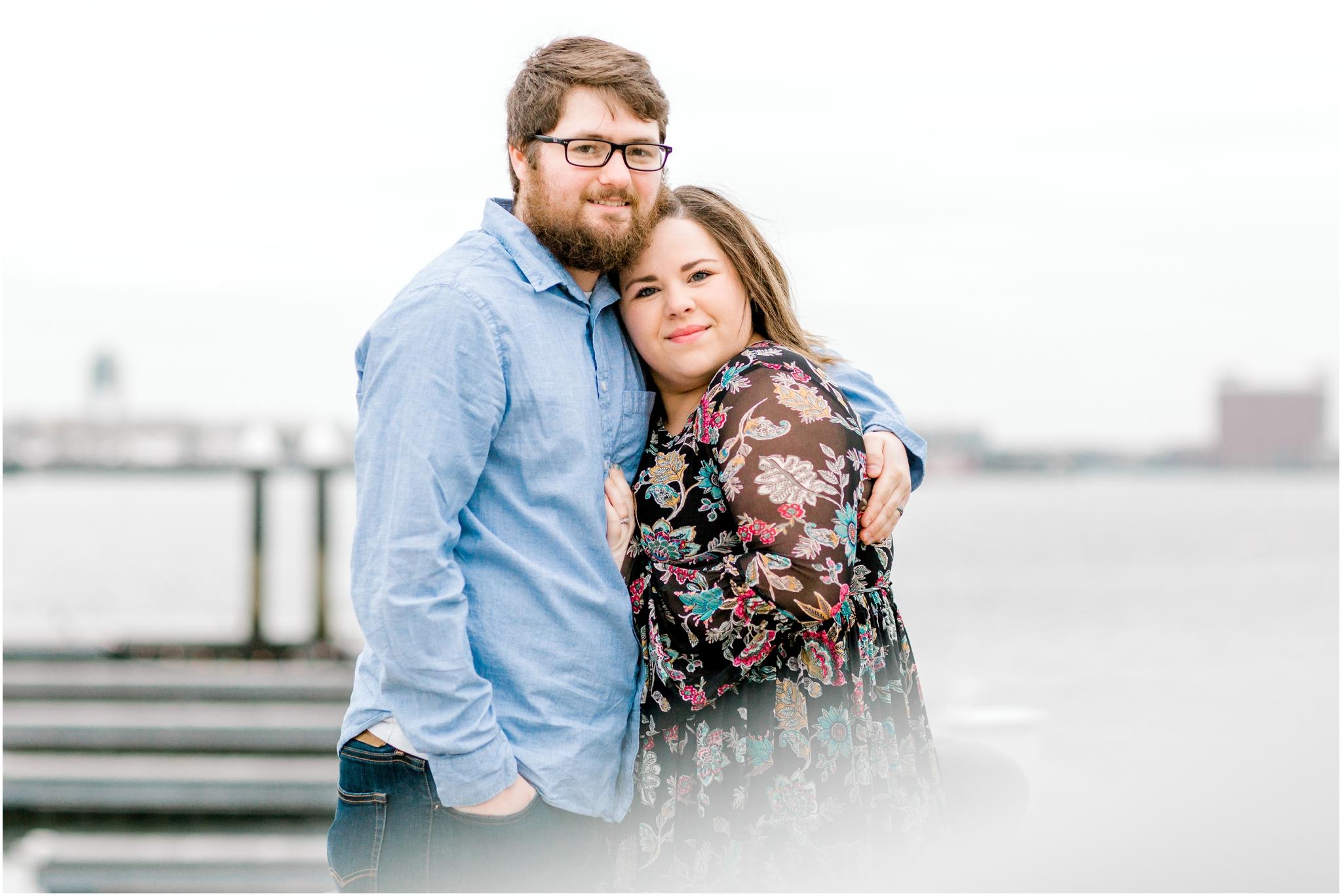 Boston Harbor Couples Session