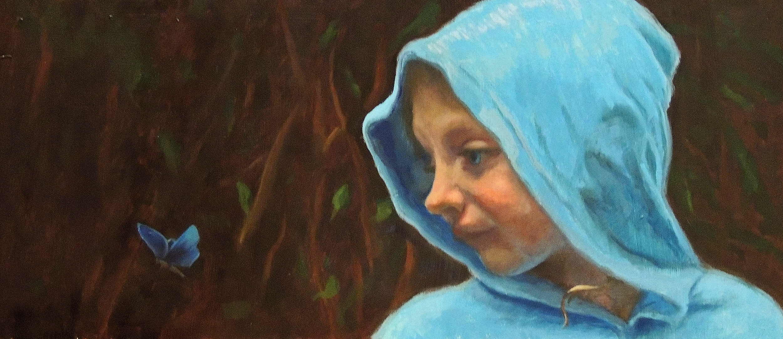 Emmie In Rainfores  11x24