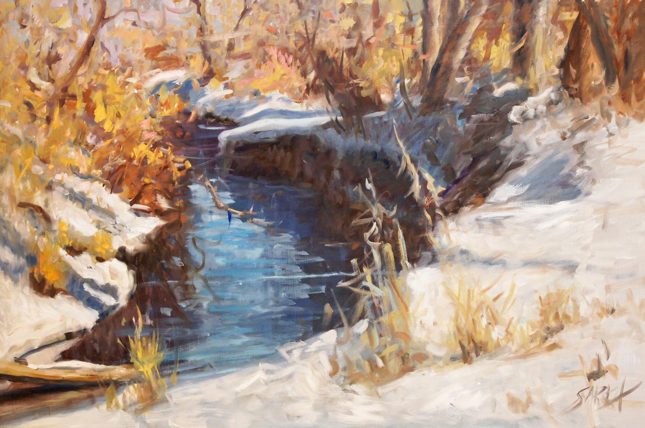 Jewell Snowy Stream
