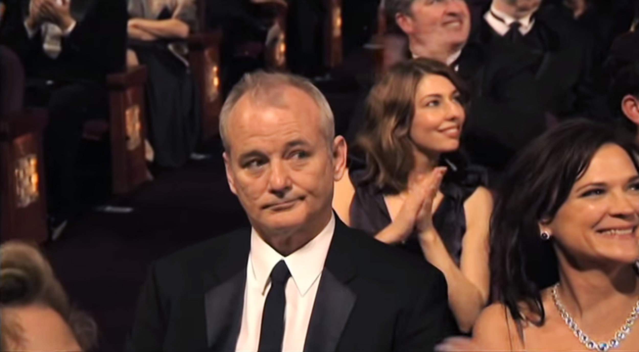 Bill Murray, when the other guy won.