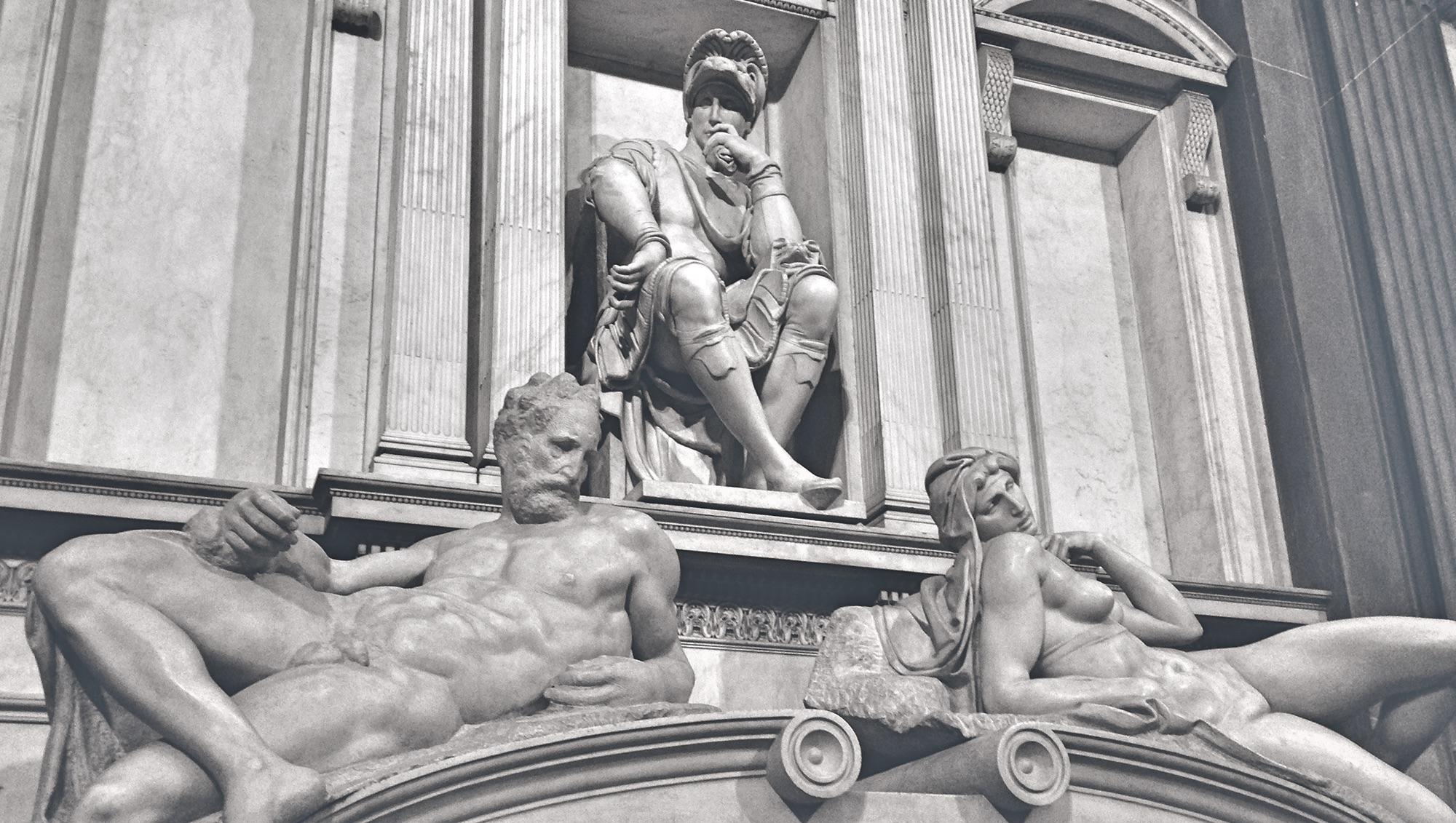 Torchona Inspiration: Michelangelo