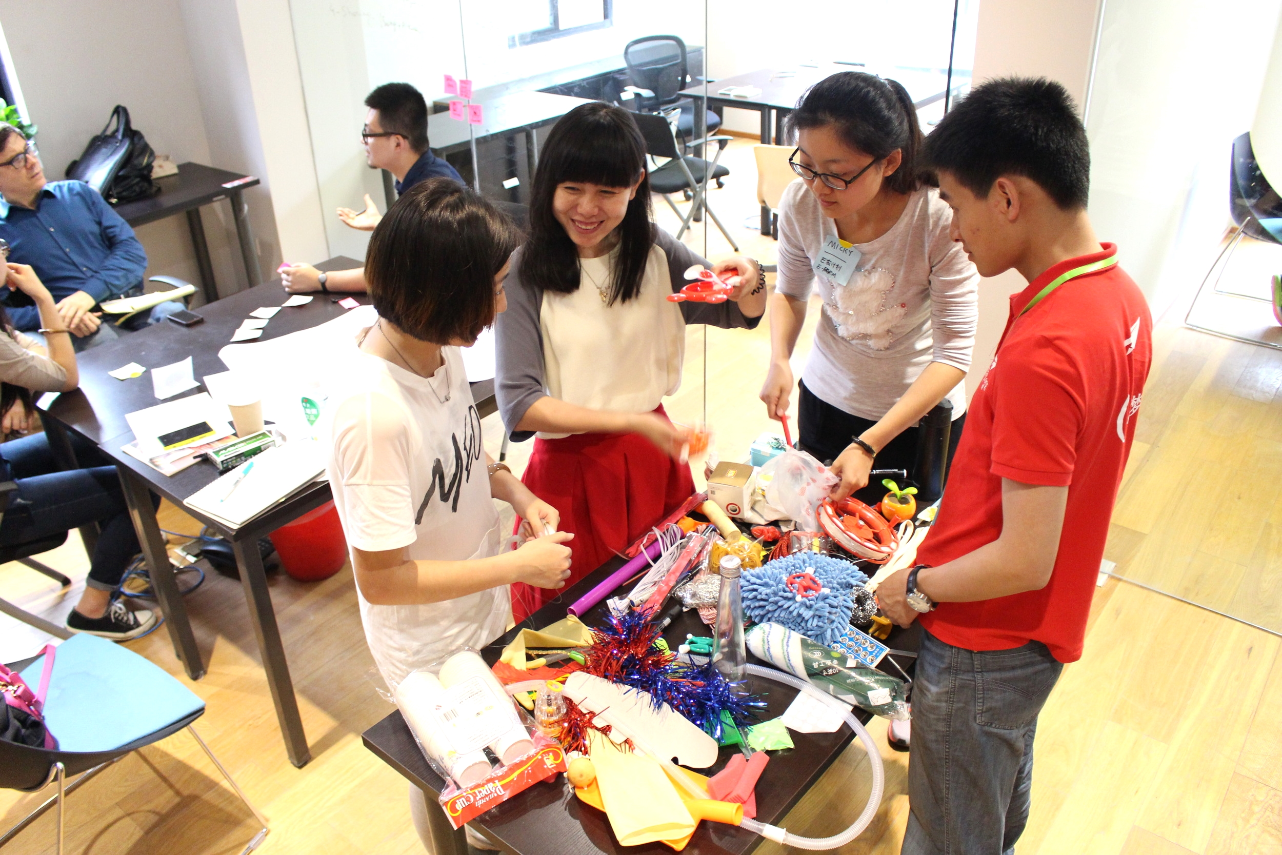 *educators and designers tinker with objects to create early-stage concepts for the future of learning